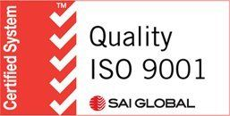 ISO 9001:2015 Certified Distributor